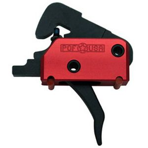 POF USA EFP AR-15 Drop-in Trigger Single Stage 4 lb Pull Red Black 00516