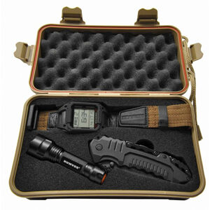 HUMVEE Recon Mission Combo Set Watch, Knife and LED Light