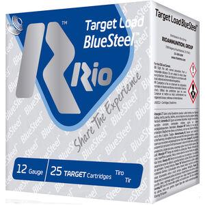 """RIO Ammunition Target Load BlueSteel 12 Gauge Ammunition 250 Rounds 2-3/4"""" Shell #7 Steel Shot 1oz 1325fps"""