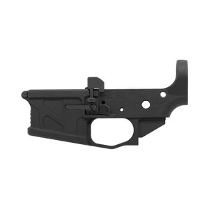 American Defense Manufacturing UIC Billet AR-15 Multi Caliber Lower Receiver Ambidextrous Teflon Black