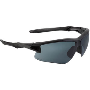 Acadia Shooter's Safety Glasses Gray Lens with Uvextreme and Anti-Fog Coating Black Polymer Frame Comfort Molded Temple
