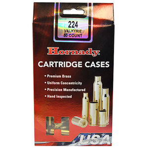 Hornady Unprimed Brass 3000 Cases .224 Valkyrie