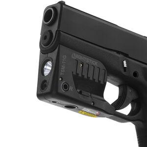 Nightstick TSM-11G Subcompact Weapon Light For Glock 43 150 Lumen LED Light Green Laser Aluminum Black