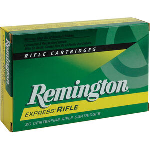Remington Express .308 Winchester Ammunition 20 Rounds 180 Grain Core-Lokt PSP Soft Point Projectile 2620fps