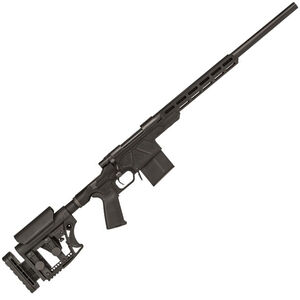"""Howa HCR Bolt Action Rifle 308 Win 20"""" Heavy Barrel 10 Rounds Aluminum Chassis M-LOK Forend LUTH AR Stock Black"""