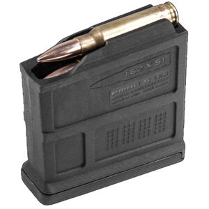 Magpul PMAG 7.62 AC/AICS Short Action 5 Round Magazine .308 Winchester/7.62 NATO Polymer Matte Black