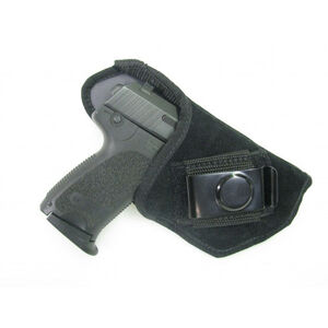 AMS Suede Inside Waistband Holster Right Hand, Black