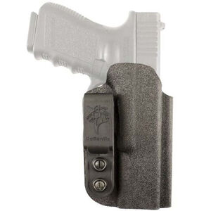 DeSantis Gunhide Slim-Tuk Holster fits GLOCK 43/43X IWB Holster Ambidextrous Tuckable Kydex Black