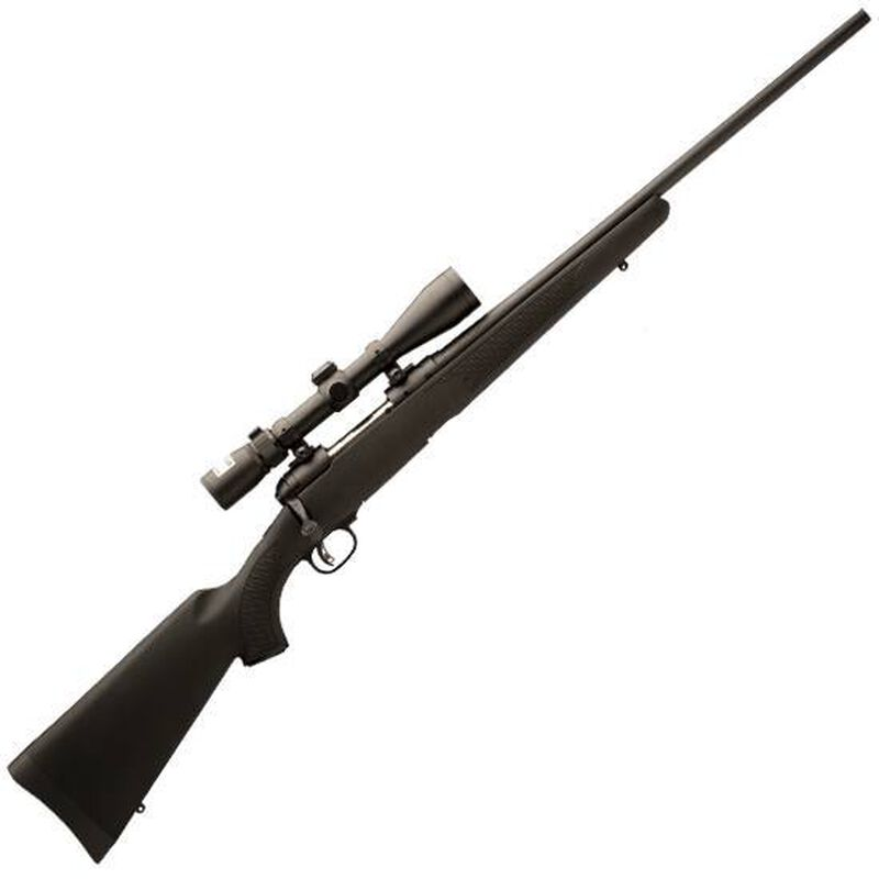 """Savage Arms 11 Trophy Hunter XP Bolt Action Rifle .260 Remington 22"""" Barrel 4 Rounds Synthetic Stock Matte Black Finish with Nikon 3-9x40 Riflescope 19682"""