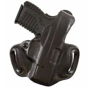 DeSantis 085 Thumb Break Mini Slide Belt Holster SIG P938 Right Hand Leather Black 085BAY1Z0