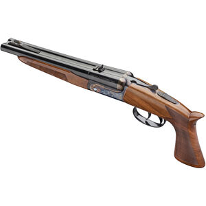 """Pedersoli Howdah .45 LC/.410 Bore SxS Break Action Pistol 10"""" Double Barrel 3"""" Chambers 2 Rounds Color Case Hardened Receiver Walnut Grip/Stock Blued Finish"""
