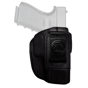 Tagua Gun Leather Super Soft Ruger LC9 Inside Waistband Holster Leather Right Hand Black SOFT-060