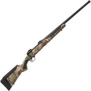 """Savage 110 Predator Bolt Action Rifle .204 Ruger 24"""" Barrel 4 Rounds Adjustable AccuFit AccuStock Realtree Max 1 Camo/Black Finish"""