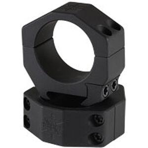 Seekins Precision 34mm Scope Rings AR High Height 4 Screw Aluminum Black