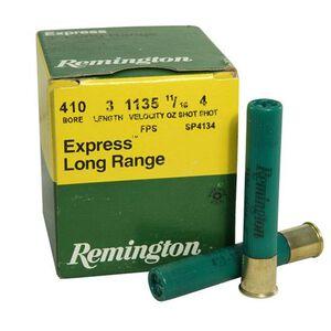 "Remington Express .410 Bore 3"" #4 Shot 11/16oz 25 Rd Box"