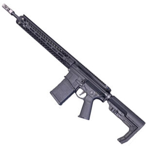 "2A Armament XLR-18 Semi Auto Rifle .308 Winchester 18"" Barrel 20 Rounds M-LOK Compatible Free Float Hand Guard Matte Black"