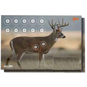 """Allen Company EZ Aim Paper Four Color Whitetail Deer Target 23""""x35"""" 2 Pack"""