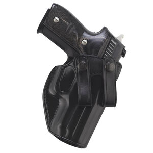 Galco Summer Comfort IWB Holster Fits SIG P320 Compact/Carry Right Hand Leather Black