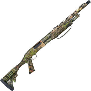 """Mossberg 500 Tactical Turkey Pump Action Shotgun 12 Gauge 20"""" Vent Rib Barrel 3"""" Chamber 5 Rounds Synthetic Pistol Grip Stock Mossy Oak Obsession Camo Finish 53265"""