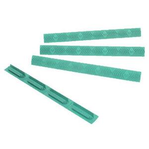ERGO Grip 7-Slot M-LOK Slot Cover WedgeLok Polymer Robins Egg Blue 4 Pack
