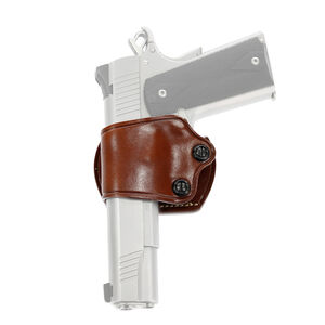 Galco Yaqui Slide Belt Holster Fits 1911 Left Hand Leather Tan