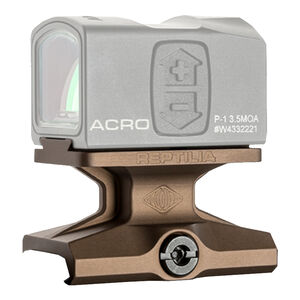 Reptilia DOT Mount For Aimpoint Acro Lower 1/3 Co-Witness Aluminum Flat Dark Earth