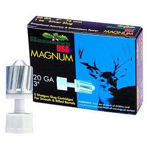 "Brenneke USA 20 Gauge Ammunition 5 Rounds 3"" Magnum Slug 1 oz SL203M"