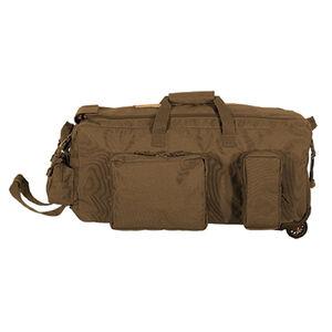 "Voodoo Mini Mojo Load-Out Bag on Wheels 28"" x16"" x 14"" 3 Gear Pockets 67L Coyote"