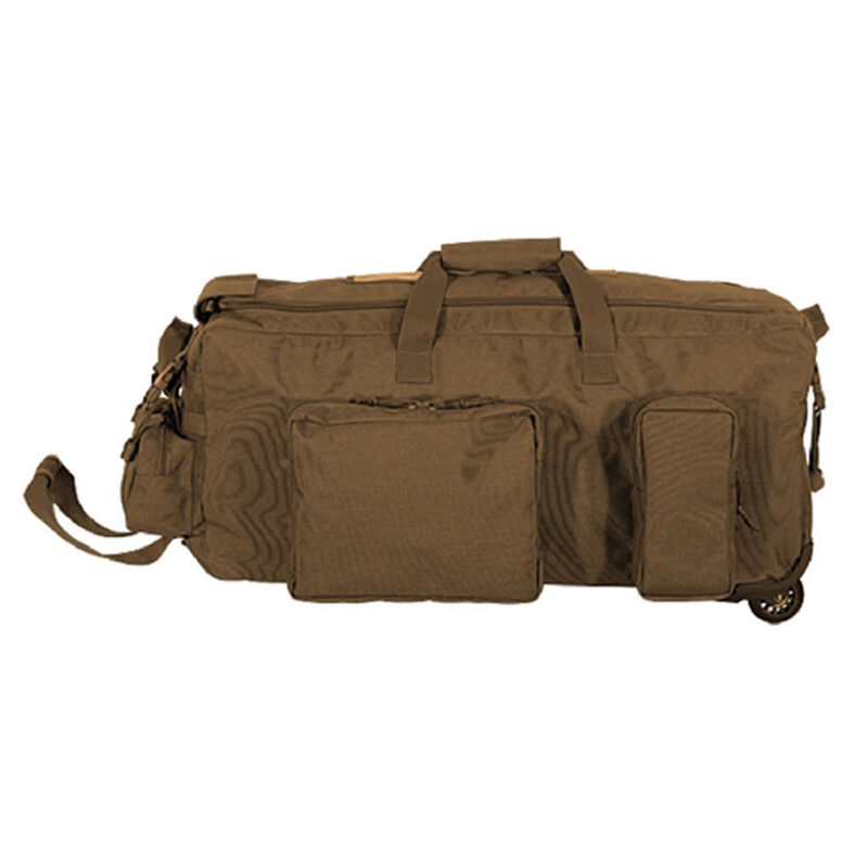 Voodoo Mini Mojo Load Out Bag On Wheels 28 X16 X 14 3 Gear Pockets 67l Coyote