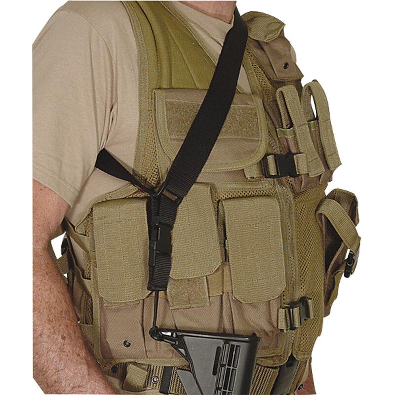 Voodoo Tactical Single Point Rifle Sling Adjustable Nylon Black 20-772301000