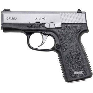 "Kahr Arms CT380 Semi Auto Pistol .380 ACP 3"" Barrel 7 Rounds Matte Stainless Steel Slide Textured Polymer Frame Matte Black Finish"