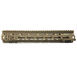 "Geissele Automatics AR-15 Super Modular Rail MK4 13"" M-LOK Aluminum Desert Dirt 05-278S"