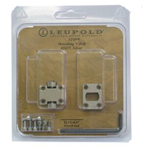Leupold 2-Piece Base for Browning X-Bolt Rifle Silver