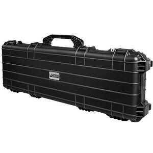 "Barska AX-500 Watertight 53"" Hard Rifle Case Cubed Foam 4 Locking Latches Black BH12158"