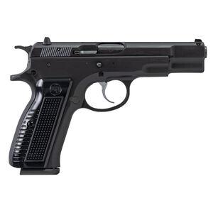 "CZ-USA CZ 75 B Retro 9mm Luger Semi Auto Pistol 4.60"" Barrel 17 Rounds Fixed 3-Dot Sights Steel Frame Aluminum Grips Black Finish"