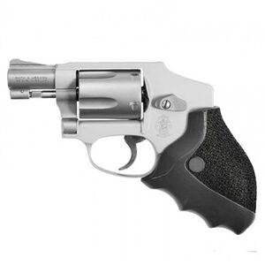 ERGO Delta Grip for Round Butt S&W J-Frame Revolvers Ergonomic Rigid Rubber Overmolded Grip Black 4581-SWJ