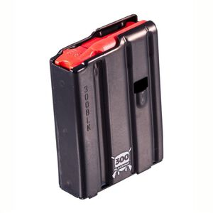 D&H Tactical AR-15 .300 Blackout 10 Round Aluminum Magazine With D&H Red Follower Black Anodized