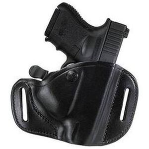 Bianchi #82 CarryLok Hip Holster Glock 19 23 and 36 Size 11 Right Hand Leather Black