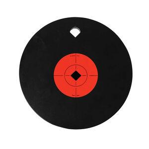 "Birchwood Casey World of Targets AR500 10"" Single Hole Steel Gong 3/8"" AR500 Steel Target Matte Black"