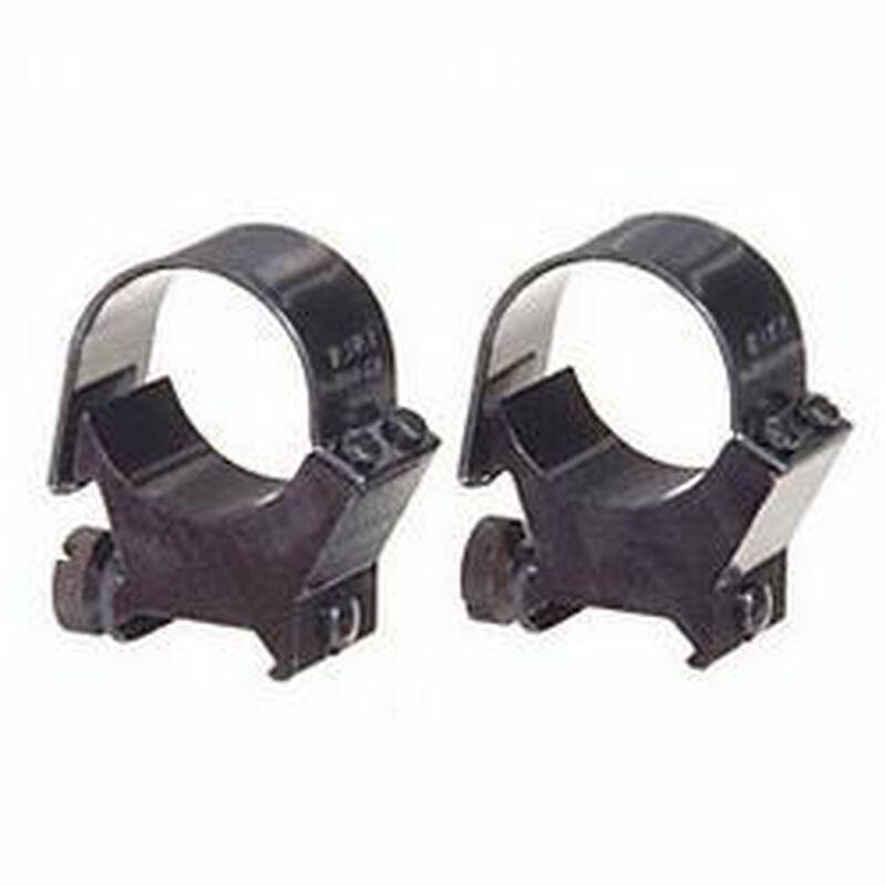 Weaver Detachable Top Mount 30mm Rings High Black