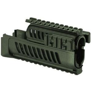 FAB Defense AK-47 Quad Rail Polymer Handguard Polymer OD green