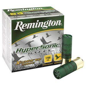 "Remington HyperSonic 12 Ga 3"" #1 Steel 1.25oz 25 Rounds"