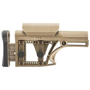 LUTH-AR MBA-1 Fixed Buttstock  Fits AR-15/AR-10 Flat Dark Earth