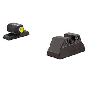 Trijicon H&K USP Compact HD Night Sight Set Yellow Front Outline Tritium Steel HK108Y