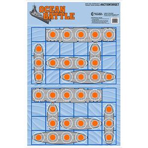 """Action Target Ocean Battle Target 23"""" x 35"""" 100 Count"""