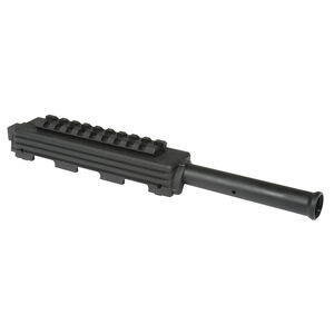 TAPCO Yugo SKS Railed Gas Tube With Picatinny Rail Upper Hand Guard Steel Tube/Polymer Hand Guard Matte Black Finish