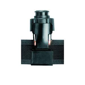 """Safariland Split-Six Speedloader Holder Epoxy Coated Steel Fits 1.75"""" Belts Matte Black CD-6"""