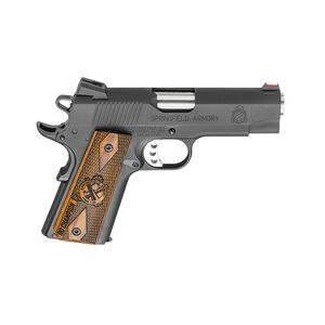 "Springfield Armory 1911 Range Officer Champion 9mm Luger Semi Auto Pistol 4"" Lightweight 9 Round Parkerized Black"