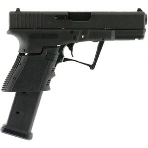 "Full Conceal M3D G19 Gen 4 9mm Luger Folding Semi Auto Pistol 21 Rounds 4.01"" Barrel Polymer Frame Black"