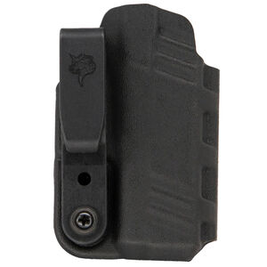 DeSantis Gunhide Slim-Tuk Holster fits SIG Sauer P938/ KIMBER Micro 9 Ambidextrous IWB Tuckable Kydex Black